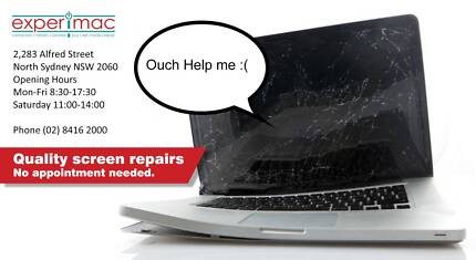 MacBook Screen Replacements North Sydney North Sydney Area Preview