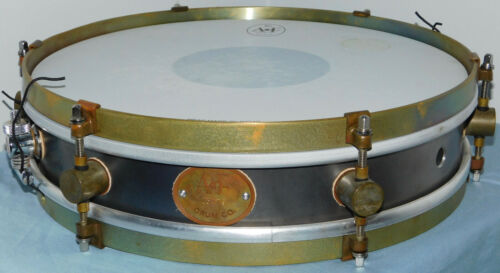 A&F Raw Steel Snare Drum 13x3
