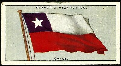 CHILE, FLAGS OF THE LEAGUE OF NATIONS, JOHN PLAYER & SONS CARD](Flags Of The Nations)