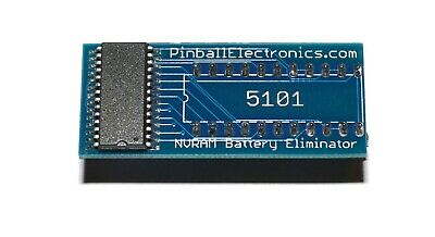 5101 NVRAM Battery Eliminator for Bally Stern Williams Gottlieb Pinball & Arcade