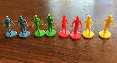 Mall Madness Board Game Parts Replacement Plastic People Red Blue Green (Greene Mall)