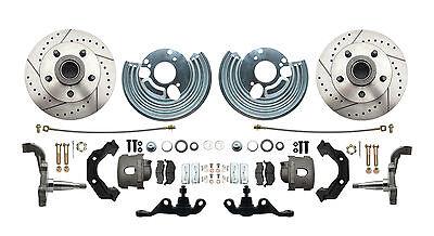 Disc Brake Wheel Kit - Mopar A Body Performance Disc Brake Conversion Kit Wheel Kit Only (wheels 5x4.5)