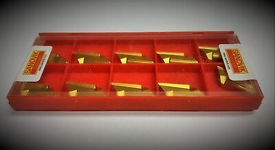 Sandvik Knux 16 04 10l12 2025  Carbide Inserts Knux 160410l12 2025  10pcs