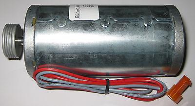 24 Vdc High Torque Pm Buhler Motor W Pulley - 4000 Rpm - 6mm Shaft - 2 Pin Plug