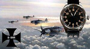 B-UHR BIG PILOT 55 mm watch,limited edition, brand new + warranty card! VIDEO!