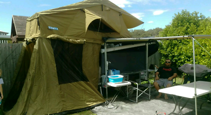 Multi purpose c&er trailer & rooftop tent | Camper Trailers | Gumtree Australia Free Local ...