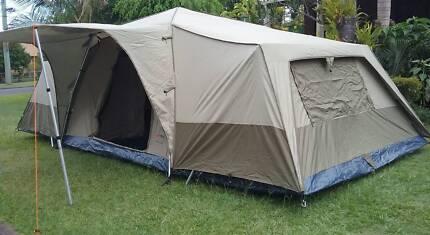 Black Wolf 300 Lite Twin Turbo Tent & Black Wolf 6 man tent | Camping u0026 Hiking | Gumtree Australia ...