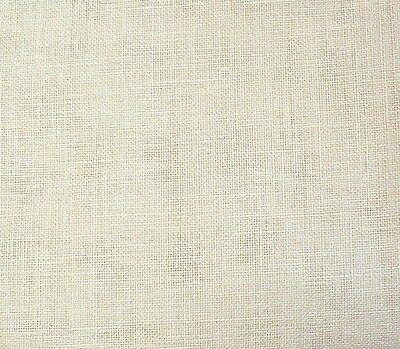 """Big Yard of Twenty-Eight (28ct) Cream Bantry Cloth by Zweigart (36x55"""")"""