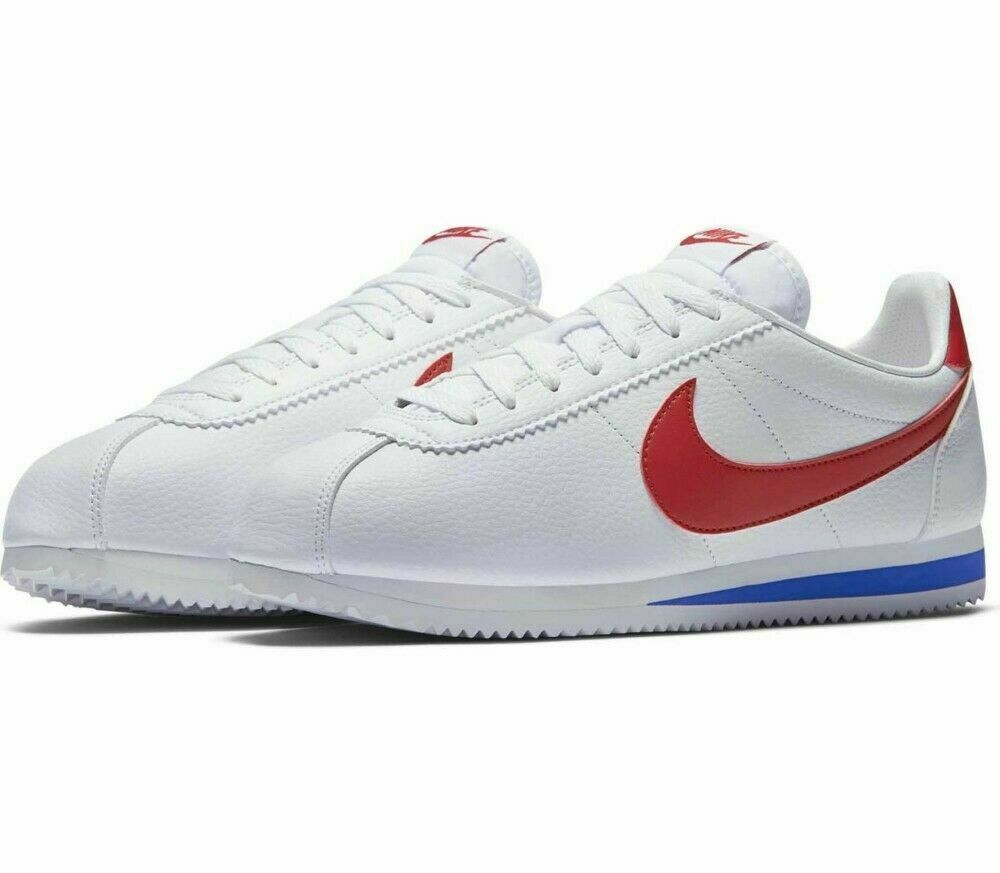 Nike Classic Cortez Leather White Trainers UK 7 **BNIB & UNUSED**