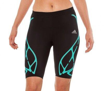 tWeb Womens Short Running Tights - Black (Web Tights)