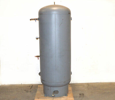 Manchester 400-gal Vertical Air Compressor Tank 165-psi Yr2008 Sh.198 Hd.162