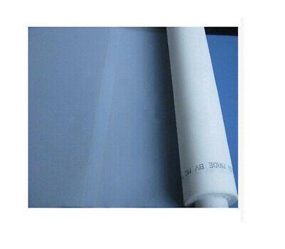 9 Yard 120 Mesh Screen Printing Fabric For Silk Screen Printing 50width White