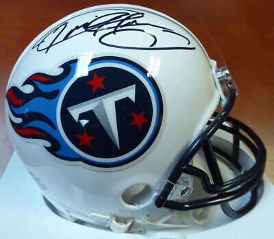DERRICK HENRY AUTOGRAPHED SIGNED TENNESSEE TITANS MINI HELMET PSA/DNA (Signed Titans Mini Helmet)