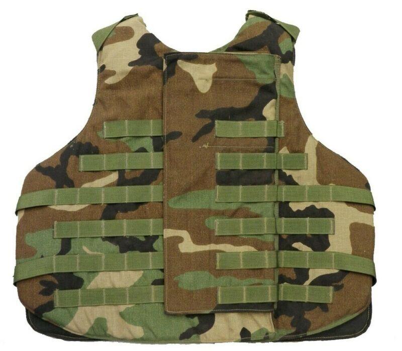 Interceptor OTV, M81 Wooodland, No groin or neck protection, lightly used vest
