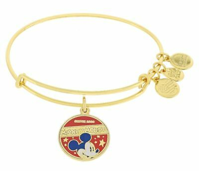 Mickey-mouse-banner (NEW ALEX & ANI MICKEY MOUSE BANNER GOLD BANGLE NWT SEALED SOLD OUT DISNEY PARK)