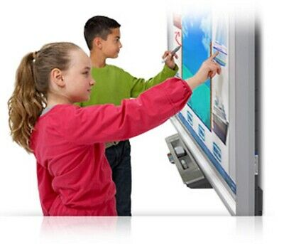 Interactive Smart Board Sbx800 And Epson Short Throw Projector Brightlink 485wi