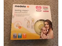 *New* Medela swing maxi double electric breast pump