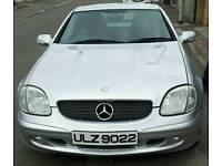 Mercedes SLK Convertable