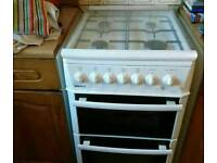 Beko Gas Cooker White