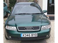 Audi A4 Estate. Spares or Repaire. year 2000. No accident damage. Complete car with MOT Till Oct.