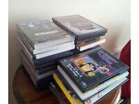 36 DVD'S Drama, Horror, Children's