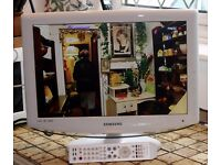 """Samsung LE19R86WD White 19"""" HD Ready LCD TV w/ Freeview"""