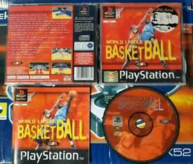 World league basketball ps1 mint