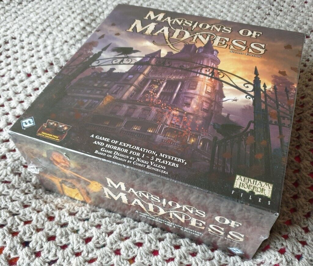 Mansions of Madness 2nd Edition Brand New /& Sealed