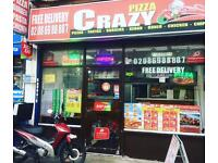 Indian + Pizza takeaway shop for quick sale