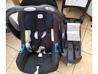 Britax baby car seat & isofix base