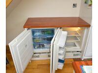 Bosch integrated built-under fridge and freezer units