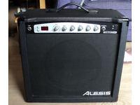Alesis spitfire 60 Guitar amp 60 Watt on board DSP effects