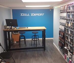 CELL EXPERT Réparation Cellulaire, iPhone, Samsung, LG, Étui, Vitre de protection