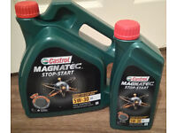 Castrol Magnatec 5L Stop-Start 5W30 A5 Full Synthetic