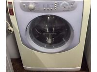 Hotpoint AQXXL129 7.5kg 1200 Spin White A+ Rated Washing Machine 1 YEAR GUARANTEE FREE DEL N FIT