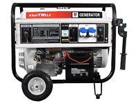 Generator KRAFTWELE KW8800 1Phase 8,8Kva Diesel