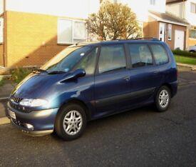 2000 Blue Renault Espace Petrol 1.9l