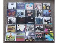 200 cd albums, rock/pop/indie etc, all good/very good playable condition