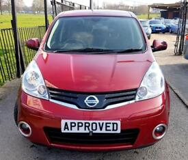 NISSAN NOTE 1.6 N-TEC PLUS 5d AUTO 110 BHP (red) 2012
