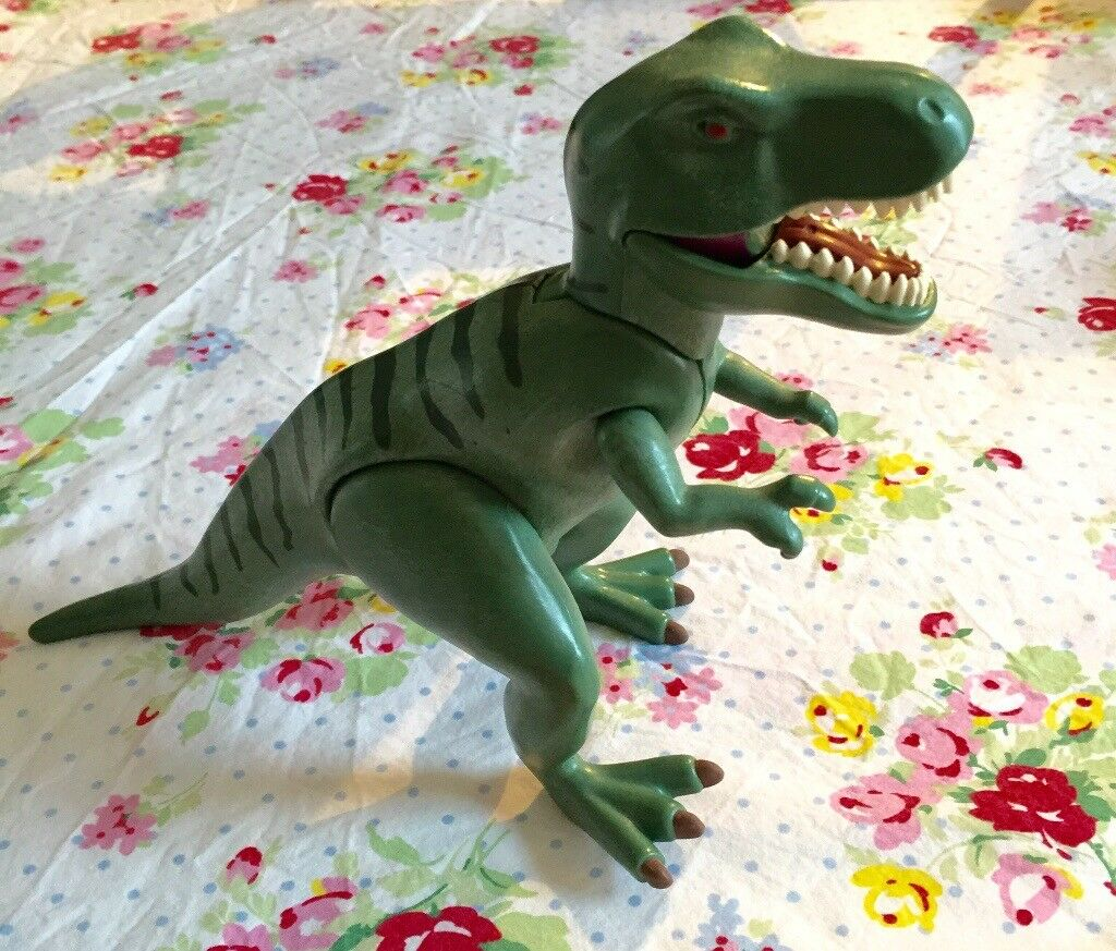 Large Playmobil toy dinosaur! T-Rex. Moving parts