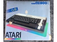 Atari model 800XL vintage Home Computer, c.1984.