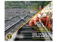 PTS Personal Track Safety from £155.00 & ICI (LUCAS) Assessments from £45.00 London Wide