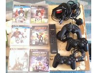 PS3 80Gb Console + Pads + Few Games (Used-Good Condition-Original Box)