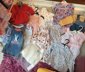 MASSIVE BABY GIRL BUNDLE 3-6 to 18-24