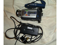 Sony DCR-TRV50 MiniDV + Memory Stick Handycam camcorder w Carl Zeiss Optics + Night Vision Recording