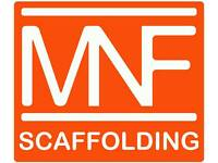 MNF Scaffolding LTD. Scaffolding company covering Glasgow and surrounding areas