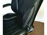 100 % leather office chair