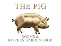 Waiting Staff - THE PIG - on the beach