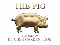 Waiting Staff - THE PIG at Combe