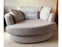 Swivel chair / sofa - Grey
